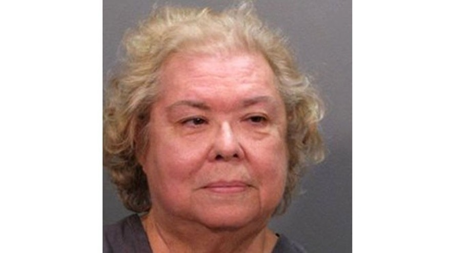 This photo provided by the Jacksonville Sheriff's Department shows Diana Reaves Costarakis ,70, of Middleburg, Fla. Costarakis was arrested after soliciting an undercover detective to kill her daughter-in-law, authorities said.