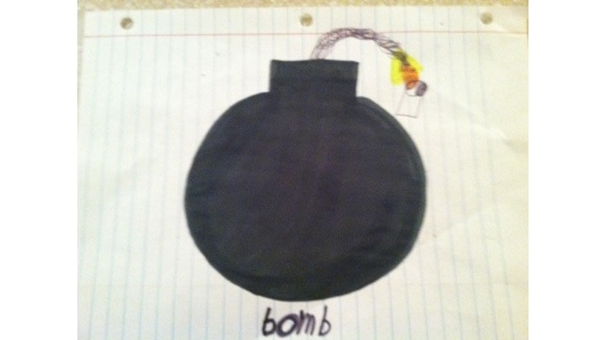 UNDATED: A student with disabilities was suspended from Hillcrest Middle School in South Carolina for drawing a picture of a cartoon bomb, according to his mother.