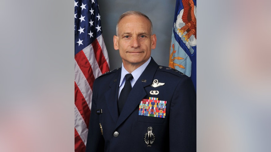 This undated handout photo provided by the US Air Force shows Lt. Gen. James M. Kowalski, the commander of Air Force Global Strike Command, who is responsible for the entire force of 450 Minuteman 3 missiles, plus the Air Force's nuclear-capable bombers. Twice this year alone, Air Force officers entrusted with the launch keys to nuclear-tipped missiles have been caught leaving open a blast door that is intended to help prevent a terrorist or other intruder from entering their underground command post and potentially compromising secret launch codes, Air Force officials told The Associated Press.  (AP Photo/US Air Force)