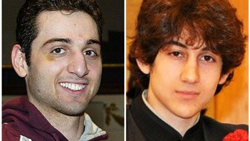 FILE: Undated photos show Tamerlan Tsarnaev, left, and Dzhokhar Tsarnaev. Legal experts say Tsarnaev's lawyers may try to save him from the death penalty in the Boston Marathon bombing by arguing he fell under the murderous influence of his older brother.