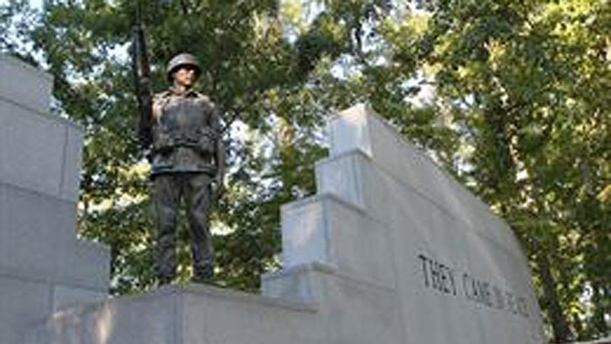 The Beirut Memorial in the Lejeune Memorial Gardens in Jacksonville, N.C. (Courtesy: United States Marine Corps).