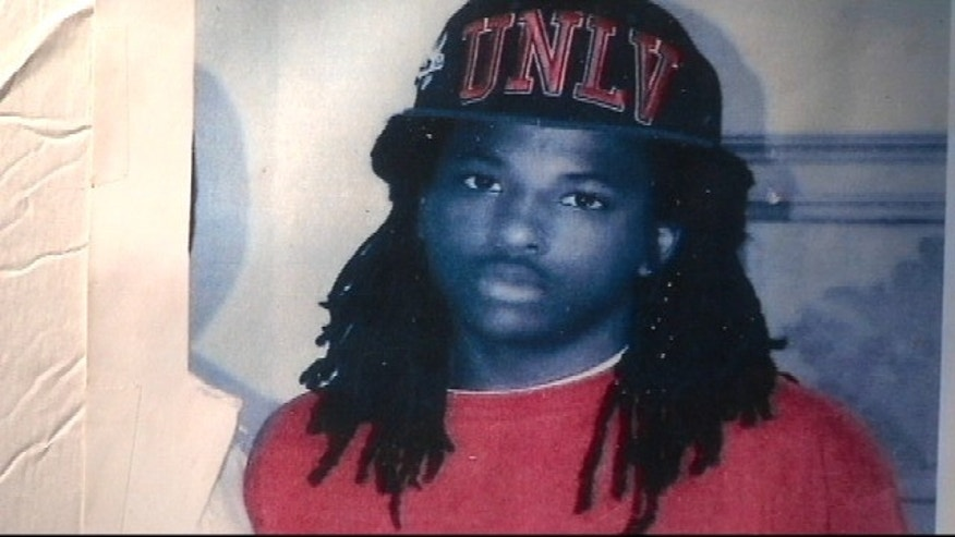 This undated photo, provided by Fox affiliate WAGA-TV, shows Kendrick Johnson.