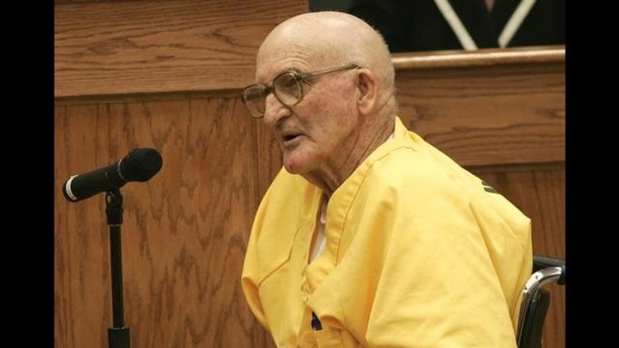 In this 2005 photo, Edgar Ray Killen testifies during a bond hearing in Mississippi. (AP Photo)