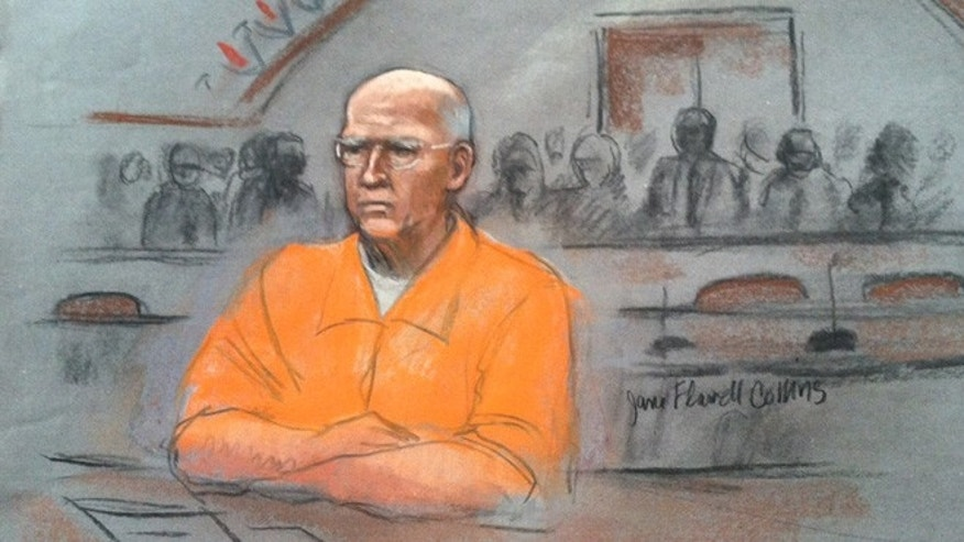 Nov. 13, 2013: James 'Whitey' Bulger appeared in court in Boston.