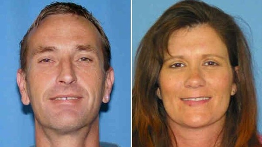 This file image shows Bobby Dale Jamison, left, and his wife, Sherrilyn, who disappeared along with their 6-year-old daughter in October 2009.