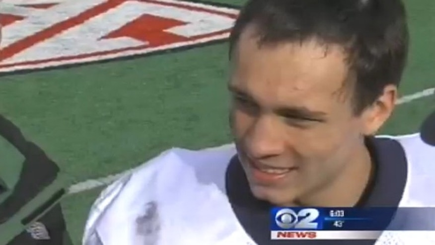 "Britain Covey, the Timpview High School quarterback, was addressing a scrum of reporters after winning the championship on Friday. He said, ""I don't even remember who scored on that last drive."""
