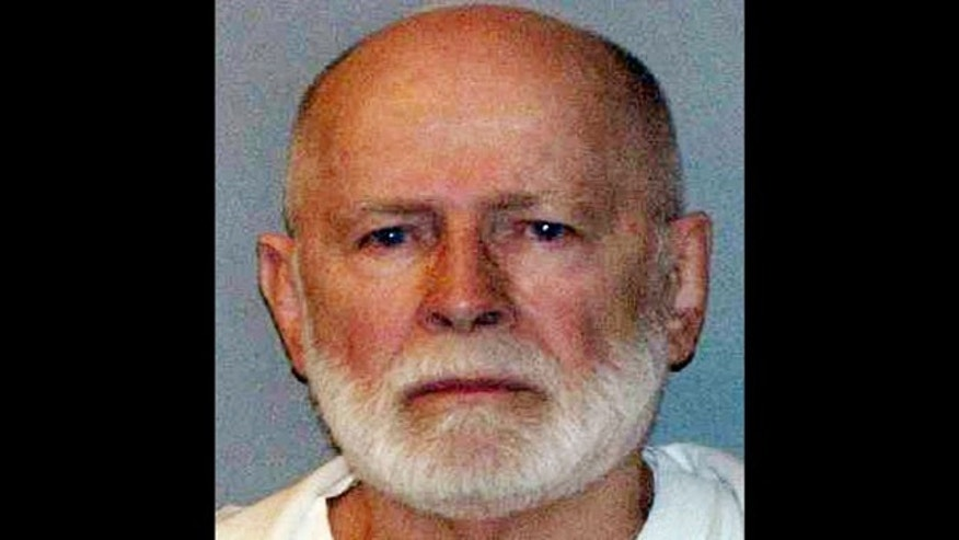 "FILE - This file June 23, 2011 booking photo provided by the U.S. Marshals Service shows James ""Whitey"" Bulger, captured in Santa Monica, Calif., after 16 years on the run. (AP Photo)"