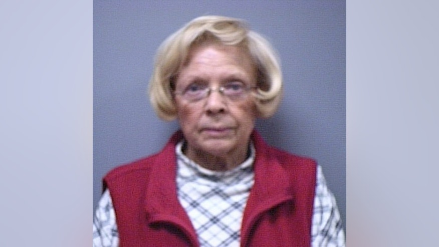 In this undated photo provided by Lake County Sheriff's department shows Carla Hague. Hague, a county judge's wife of 45 years, has been charged with trying to poison him with antifreeze. Hague, wife of Ashtabula County Common Pleas Juvenile-Probate Judge Charles Hague, was charged Monday, Dec. 2, 2013 with felonious assault, according to Municipal Court records. She also will face an attempted murder charge, said Sheriff William R. Johnson. (AP Photo/Lake County Sheriff Department)
