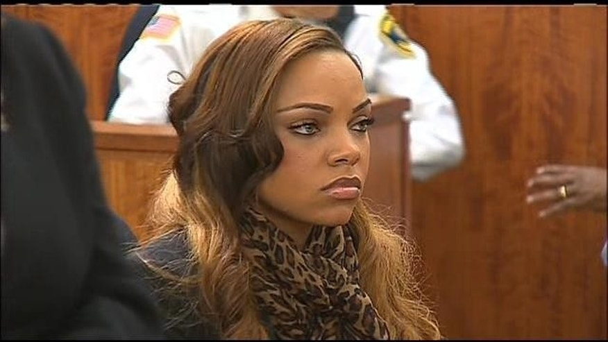 Shayanna Jenkins, girlfriend of former NFL player Aaron Hernandez (MyFoxBoston.com)