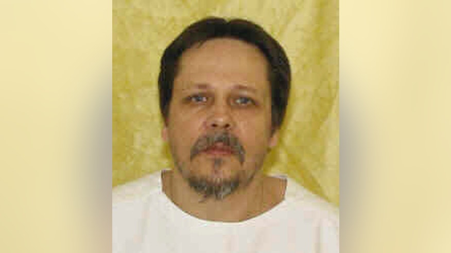 FILE-This undated file photo provided by the Ohio Department of Rehabilitation and Correction shows Dennis McGuire. A federal appeals court has rejected arguments by McGuire, a condemned Ohio killer facing a never-tried execution method that he received poor legal assistance before sentencing. The 6th U.S. Circuit Court of Appeals in Cincinnati turned down the latest appeal Monday, Dec. 30, 2013 by McGuire, who faces execution Jan. 16 for the 1989 rape and fatal stabbing of Joy Stewart, who was pregnant at the time. (AP Photo/Ohio Department of Rehabilitation and Correction, File)