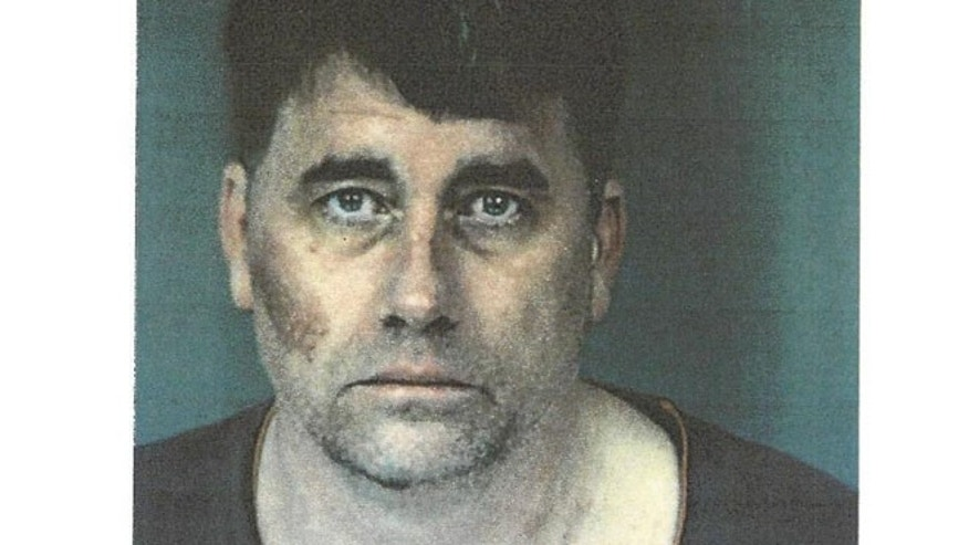 Gary Lee Bullock, 43, is a suspect in the alleged murder of Rev. Eric Freed, whose body was found Wednesday morning inside the rectory of St. Bernard Church in Eureka, Calif.