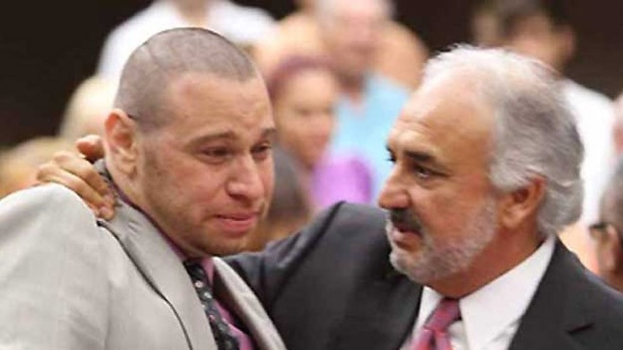 Daniel Villegas (left) is due to be released on bail after 18 and half years in prison. He has maintained that he was forced in confessing that he was responsible for murdering two men in 1995. An appellate court recently granted him a retrial.
