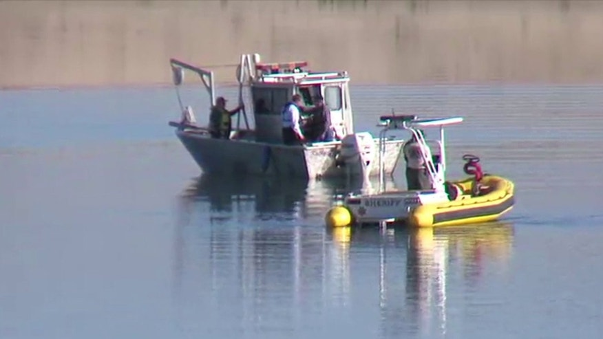 Searchers are hoping to find a plane and the bodies of passengers from a crash into Folsom Lake 50 years ago. (Fox40)