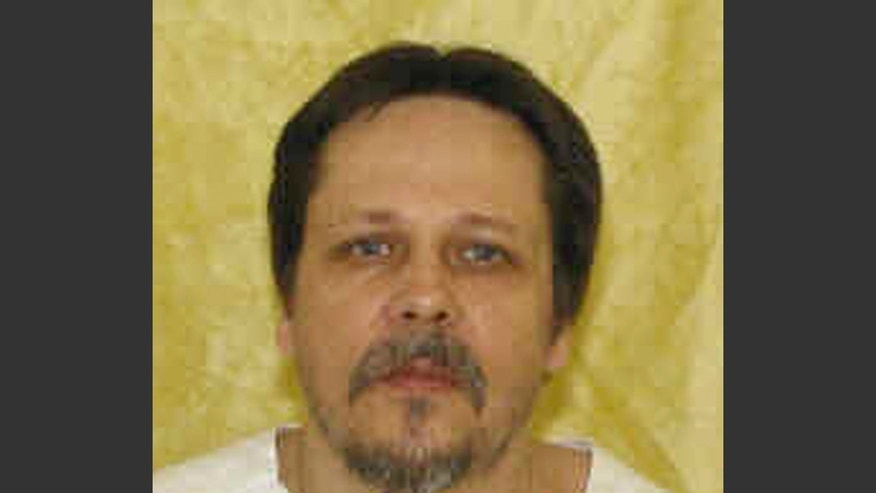 FILE - This undated file photo provided by the Ohio Department of Rehabilitation and Correction shows inmate Dennis McGuire. McGuire appeared to gasp several times and took an unusually long time to die — more than 20 minutes — in an execution carried out Thursday, Jan. 16, 2014, with a combination of drugs never before tried in the U.S. An attorney for McGuire's family said it plans to sue the state over what happened. (AP Photo/Ohio Department of Rehabilitation and Correction, File)