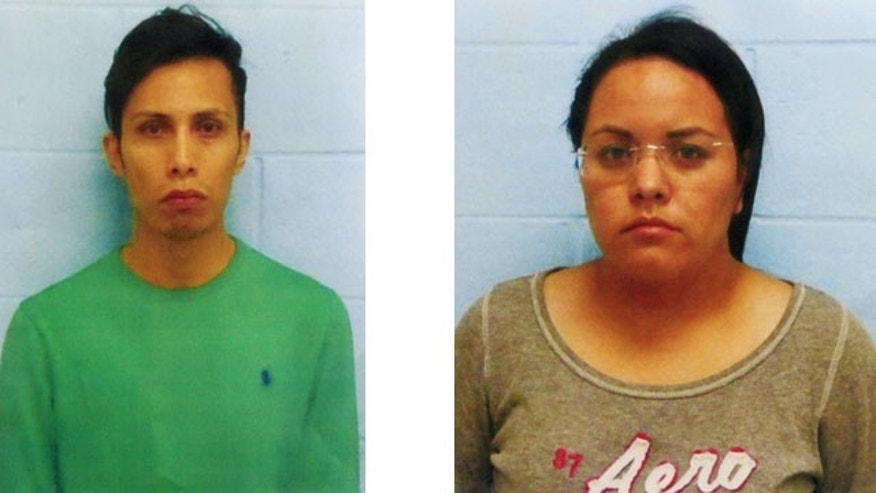 January 21, 2014: These photos provided by the McAllen, Texas police show Daniel Guardiola Dominguez, 28, and Mary Carmen Garcia, 27, both of Monterrey, Mexico.