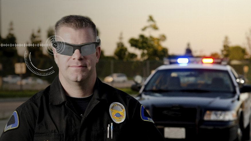 Several U.S. police forces have already begun testing wearable technologies like Google Glass, while others are set to dole out hundreds of lapel cameras to cops this summer. Experts contacted by FoxNews.com say this is merely a glimpse of what's to come, including gadgets that emit supersonic sounds to stun unruly crowds and so-called GPS bullets that allow cops to shoot targets to be followed remotely. (Courtesy: Accenture)