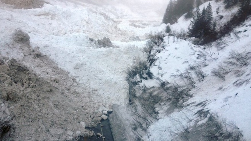 Jan. 24, 2014: Multiple avalanches that crossed the Richardson Highway in the Thompson Pass region of Valdez, Alaska.