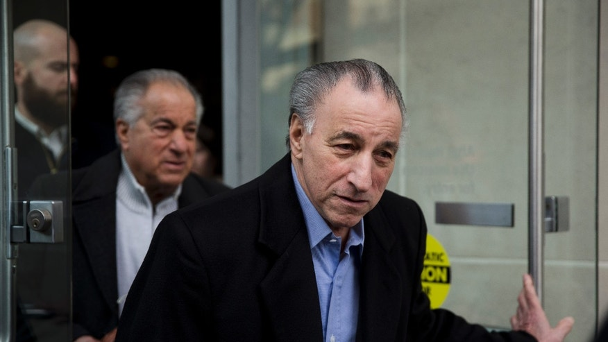 "Joseph ""Uncle Joe"" Ligambi leaves the U.S. Courthouse in Philadelphia on Tuesday, Jan. 28, 2014. Federal prosecutors in Philadelphia have dropped its criminal case against the reputed Philadelphia mob boss after a second jury deadlocked on the central racketeering charge on Friday, Jan. 24, 2014. (AP Photo/Matt Rourke)"