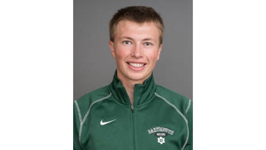 February 1, 2014: This photo released by Dartmouth Varsity Athletics Communications shows cross-country ski team member Torin Tucker. Tucker died Saturday  while competing at the Vermont Carnival. (AP Photo/Dartmouth University, Ruff Patterson)