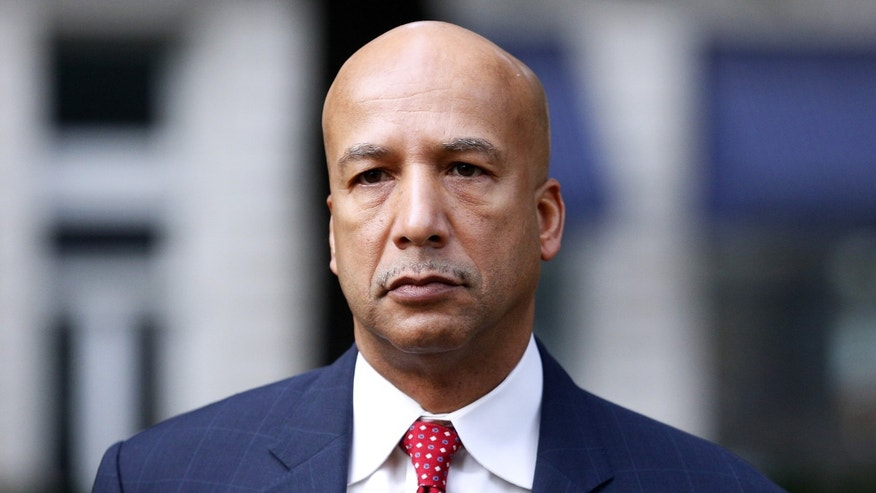FILE - In this Jan. 27, 2014, file photo, former New Orleans Mayor Ray Nagin arrives at the Hale Boggs Federal Building in New Orleans. Federal prosecutors on Monday, Feb. 10, summed up their case for convicting Nagin of corruption during his two terms as mayor. (AP Photo/Jonathan Bachman, File)