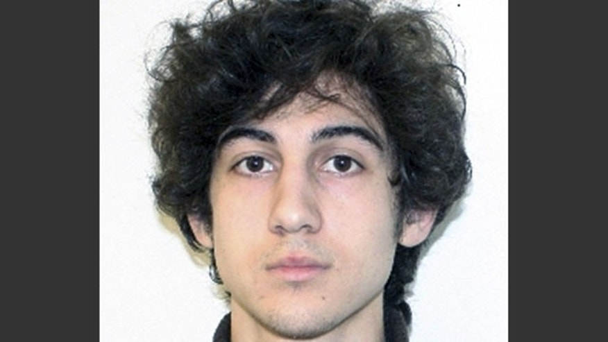 FILE - This file photo provided Friday, April 19, 2013 by the Federal Bureau of Investigation shows Boston Marathon bombing suspect Dzhokhar Tsarnaev, charged with using a weapon of mass destruction in the bombings on April 15, 2013 near the finish line of the Boston Marathon. (AP)