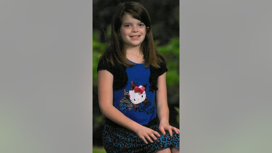 This undated photo provided by Kansas Bureau of Investigation shows 10-year-old Hailey Owens. Amber Alerts were issued late Tuesday Feb. 18, 2014 in Missouri, Kansas and Oklahoma for Hailey Owens. Police say was abducted around 5 p.m. in Springfield, about 160 miles south of Kansas City. (AP Photo/Kansas Bureau of Investigation)