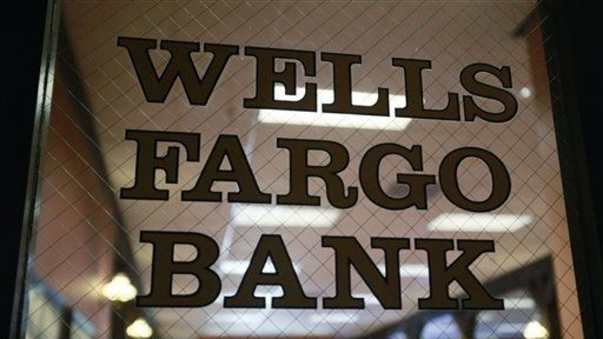 In this April 19, 2010 file photo, a Wells Fargo Bank is shown.
