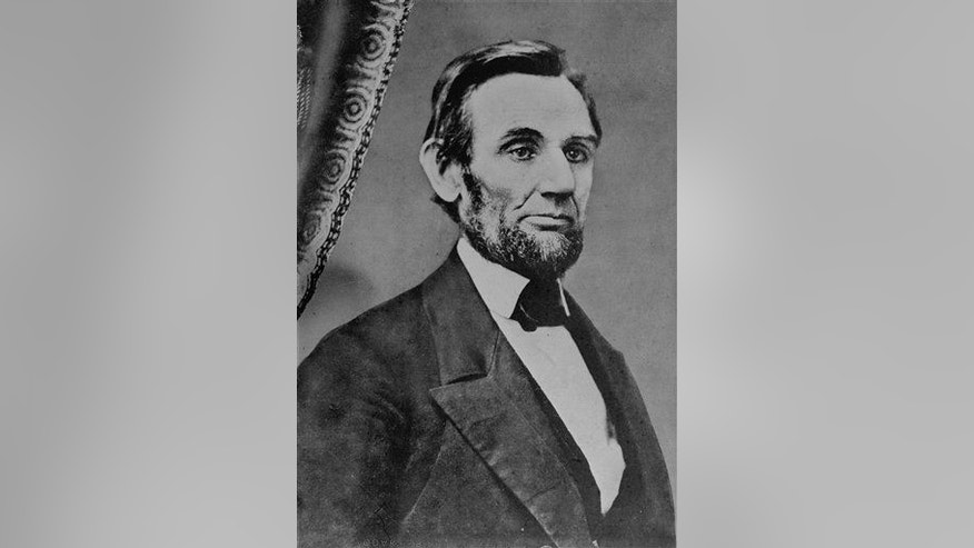 Abraham Lincoln is seen in an undated image just before he left Springfield, Ill., for his presidential inauguration in 1861.