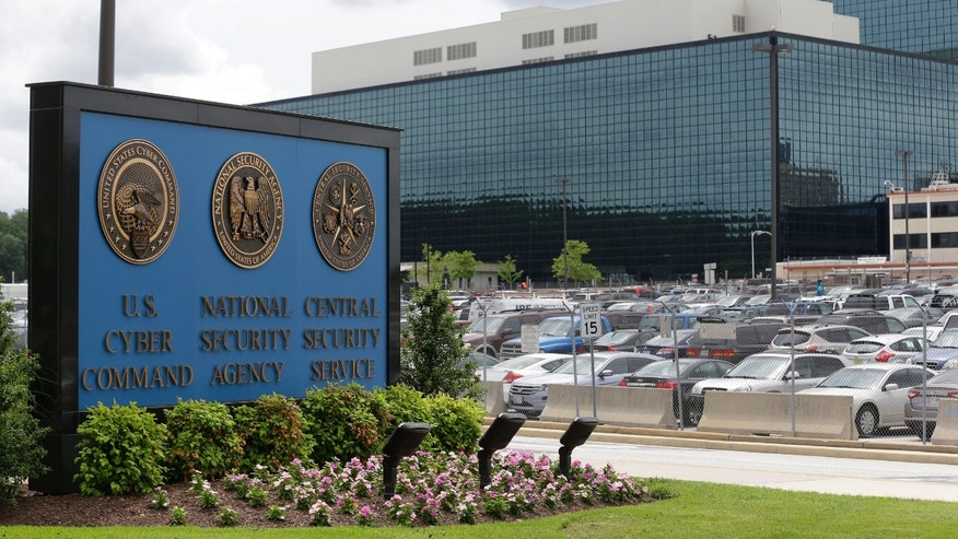 FILE - This June 6, 2013 file photo shows a sign outside the National Security Agency (NSA) campus in Fort Meade, Md. A Brooklyn man serving a 15-year terrorism sentence hopes to challenge his conviction because the Justice Department only recently revealed to him it obtained evidence using one of the National Security Agency's secret surveillance programs. The notification was a result of a new Justice Department policy after last year's disclosures by NSA leaker Edward Snowden and could lead to the reopening of many cases already closed.  (AP Photo/Patrick Semansky, File)