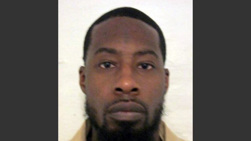 "This undated photo provided by the New Jersey Department of Corrections shows Vonte Skinner. Skinner, whose rap lyrics boasted he would ""blow your face off and leave your brain caved in the street"" will have his attempted murder case considered by New Jersey's Supreme Court, which will decide whether the words he penned should have been admitted at trial. Skinner's case is being watched closely by civil liberties advocates who contend the lyrics should be considered protected free speech under the Constitution. (AP Photo/New Jersey Department of Corrections)"