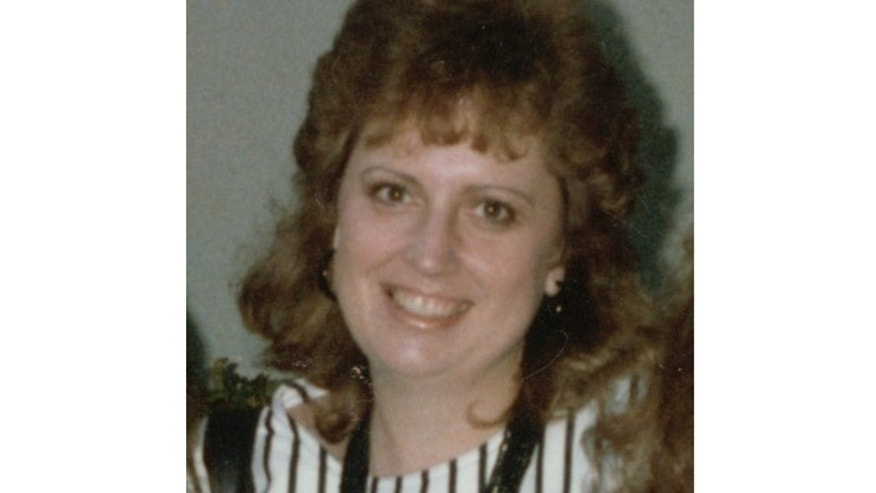 UNDATED: Cathy Zimmer, a 38-year-old mother of two, was found dead in the backseat of her car in a San Jose airport parking lot on March 10, 1989. She was covered by a quilt.