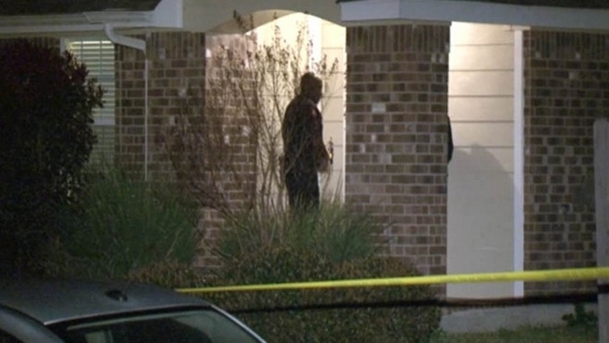 A Houston-area dad shot a teenager who was invited into his home by his teen daughter, police say.