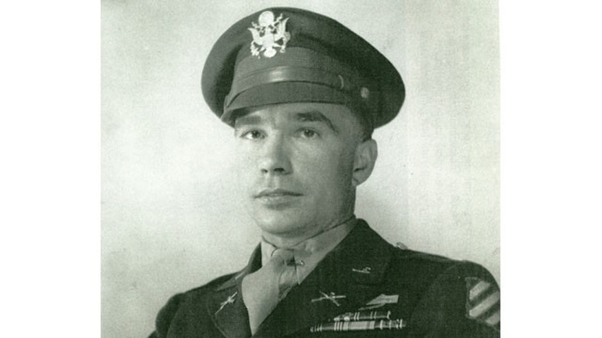 This undated photo provided by the family's attorney, Donald Todd, shows Lt. Garlin Murl Conner, of Albany, Ky. Conner left the U.S. Army as the second-most decorated soldier during World War II, earning four Silver Stars, four Bronze Stars, seven Purple Hearts and the Distinguished Service Cross for his actions during 28 straight months in combat. (AP Photo/Courtesy Conner Family Attorney)