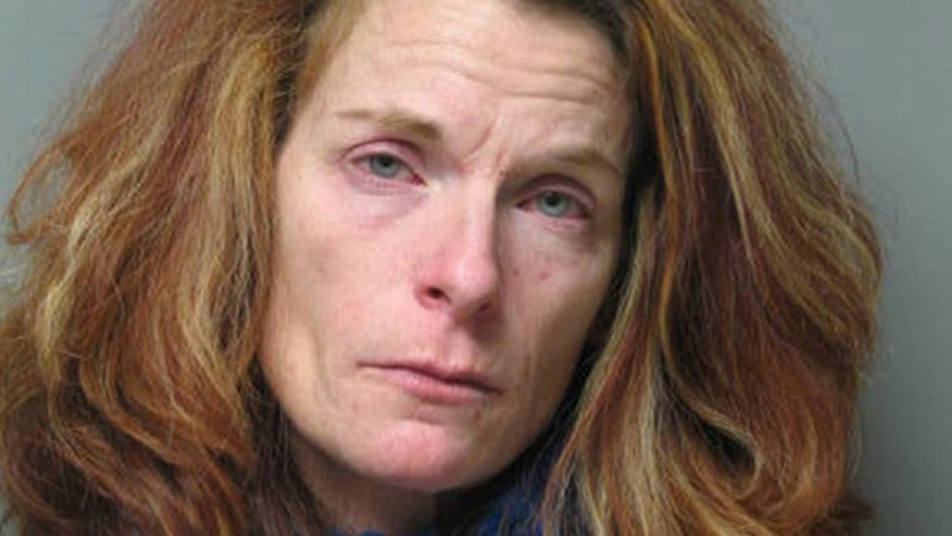 State police say Jamie Baker was charged with first-degree murder in the death of her husband.