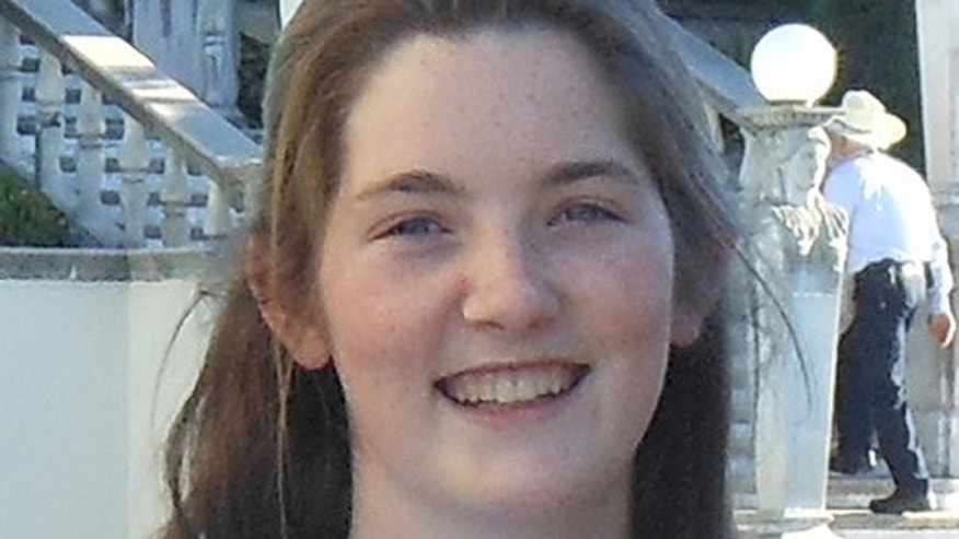 Thrin Short, 16, of Ventura County, Calif., told FoxNews.com she was pushed at least three times by associate professor Mireille Miller-Young during a March 4 anti-abortion outreach event at the University of California in Santa Barbara. (Courtesy: Thrin Short)