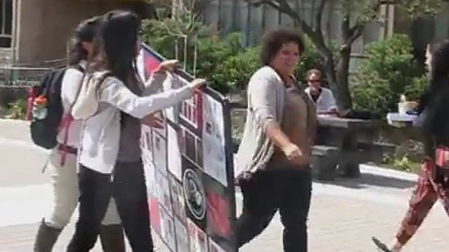Miller-Young, right, declined comment when reached by FoxNews.com, referring inquiries to her attorney, Catherine Swysen, who did not return a message seeking comment Wednesday. (YouTube.com)