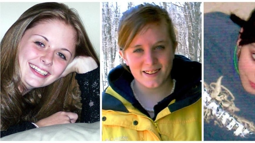 This combination of undated family photos shows, from left, Amber Marie Rose,  Natasha Weigel, and Amy Rademaker. All three were killed in deadly car crashes involving GM's Cobalt during 2005-2006.  The complaint tally for the top-selling small cars in the 2005-2007 model years was: Corolla, 228&#x3b; Cobalt, 164&#x3b; Honda Civic, 60&#x3b; Ford Focus, 25&#x3b; and the Mazda 3, 19.  (AP Photo)