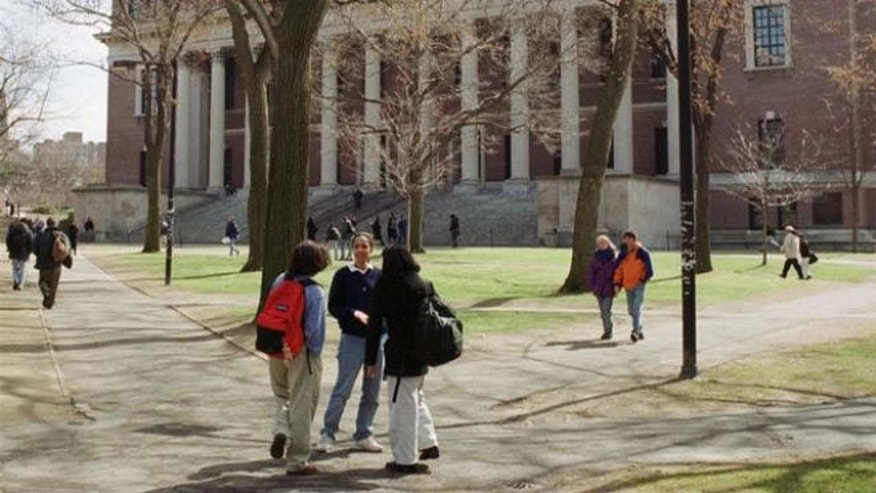 UNDATED: This photo shows the campus of Harvard University in Cambridge, Mass.