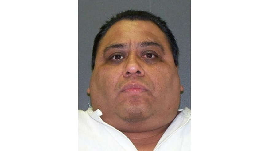 FILE -Ramiro Hernandez-Llanas, who was executed April 9, 2014 in Texas. Hernandez- Llanas, who escaped prison in his native Mexico while serving a murder sentence, was sentenced to death for the fatal beating of a former Baylor University history professor and attack on his wife more than 16 years ago.   (AP Photo/Texas Department of Criminal Justice, File)