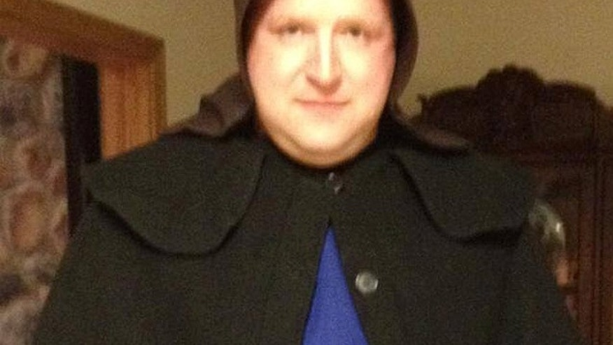 Pulaski Township Sgt. Chad Adams, seen here in disguise, says police weren't able to charge the man for a lack of concrete evidence, but believe he's the same person sentenced to house arrest in January for similar incidents in neighboring Mercer County. (Courtesy: Facebook)