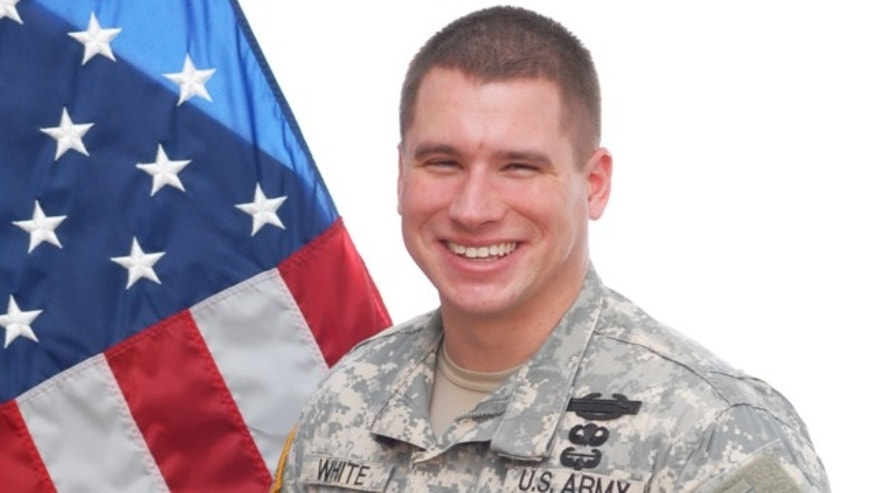 FILE: Sgt. Kyle Jerome White poses for a photo in March 2014.