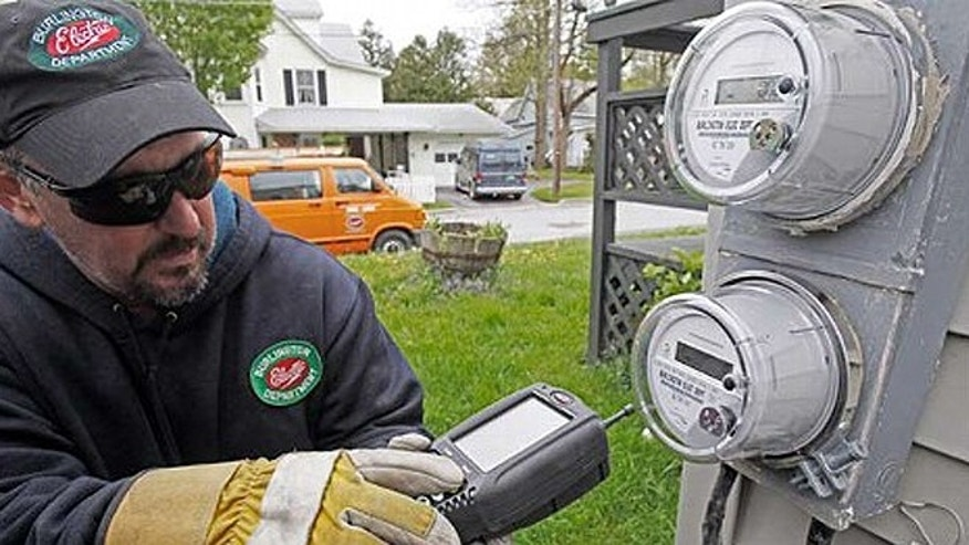 Install Utility Meters : Is your home s energy meter spying on you fox news