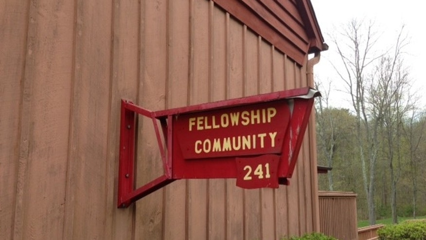 The quiet Fellowship Community in Chestnut Ridge, N.Y., where Spears lived prior to her son's death.