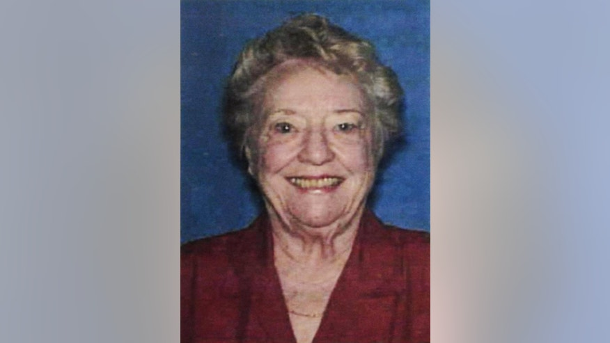 This undated photo provided by the Putnam County Sheriff's Office shows Shirley Dermond. A central Georgia sheriff has requested help from the FBI as authorities search for Dermond, who they fear was abducted around the time her husband was decapitated in their lakefront home. Friends found the body of 88-year-old Russell Dermond in the garage of the home on Lake Oconee on Tuesday, May 6, 2014. His wife, 87-year-old Shirley Dermond, is missing. (AP Photo/Courtesy Putnam County Sheriff's Office)
