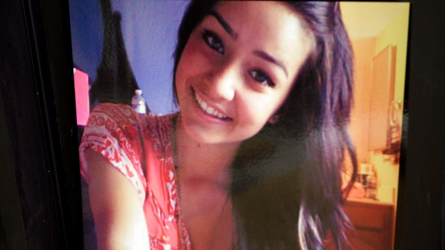 A picture of 15-year-old Sierra LaMar at Burnett Elementary School in Morgan Hill, Calif.  Authorities have arrested  Antolin Garcia-Torres in the kidnapping