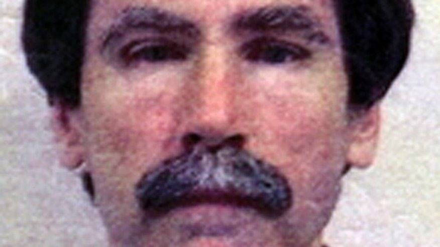 This undated file image provided by the Department of Justice shows convicted serial rapist Christopher Hubbart. A Santa Clara County judge is exploring whether to release Hubbart to a Southern California residence over the objections of the Los Angeles County district attorney and others. Authorities announced Friday, April 4, 2014, that a landlord in a sparsely populated area east of Palmdale has agreed to rent a home to Hubbart when he is released from the mental hospital he has be confined to since 1996. Hubbart admitted to raping 38 women between 1971 and 1982. (AP/Department of Justice, File)