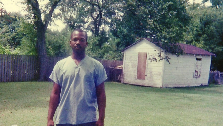 This 1990 photo provided by Curtis Griffin of his step-son Bradley Ballard shows Ballard in Houston when he was 16. In September of 2014, 39-year-old Ballard, who was mentally ill and an inmate at the Rikers Island jail in New York, died a gruesome death there after being locked alone in his cell for seven days. Documents obtained by The Associated Press show Ballard was checked on dozens of times in his cell before he was rushed to a hospital, where he died hours later. Ballard, found naked, covered in feces with a rubber band tied around his badly infected genitals, was jailed in a similar mental health unit at Rikers Island where another mentally ill inmate died in a 101-degree cell in February. (AP/Curtis Griffin)