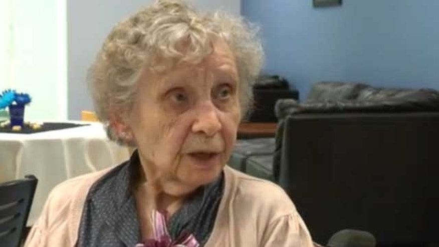 This image, provided by FoxBangor.com, shows 99-year-old Jessie White.