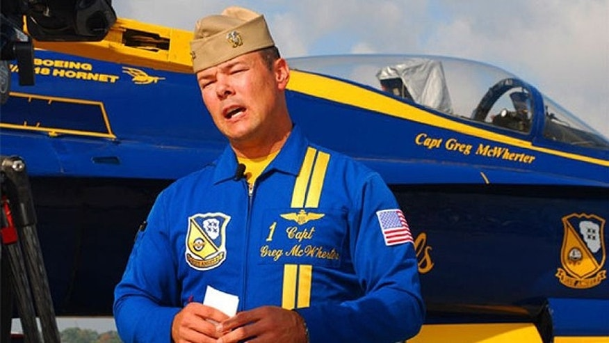 Capt. Gregory McWherter was ousted from his command officer post of the Blue Angels after an investigation determined that he allowed a frat boy culture to permeate the airshow squadron.
