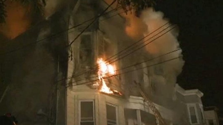 Hundreds of firefighters responded to a building fire in Staten Island, N.Y., where over 30 people, including firefighters were injured.